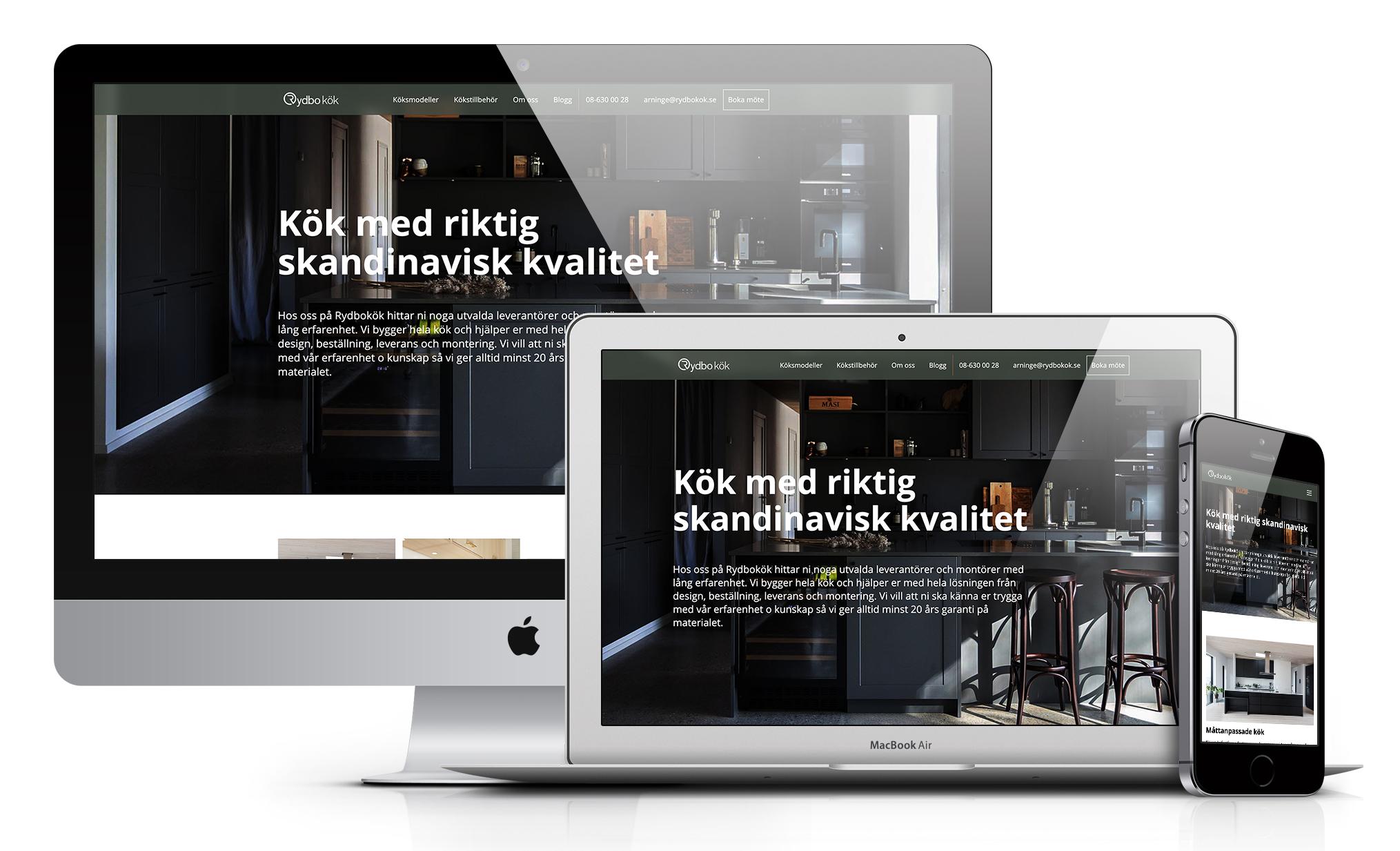 Rydbokök.se säljer måttanpassade kök title=